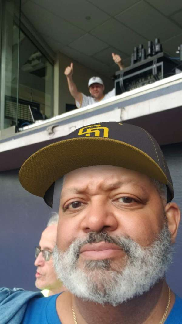 PETCO Park, section: 200, row: 10, seat: 5
