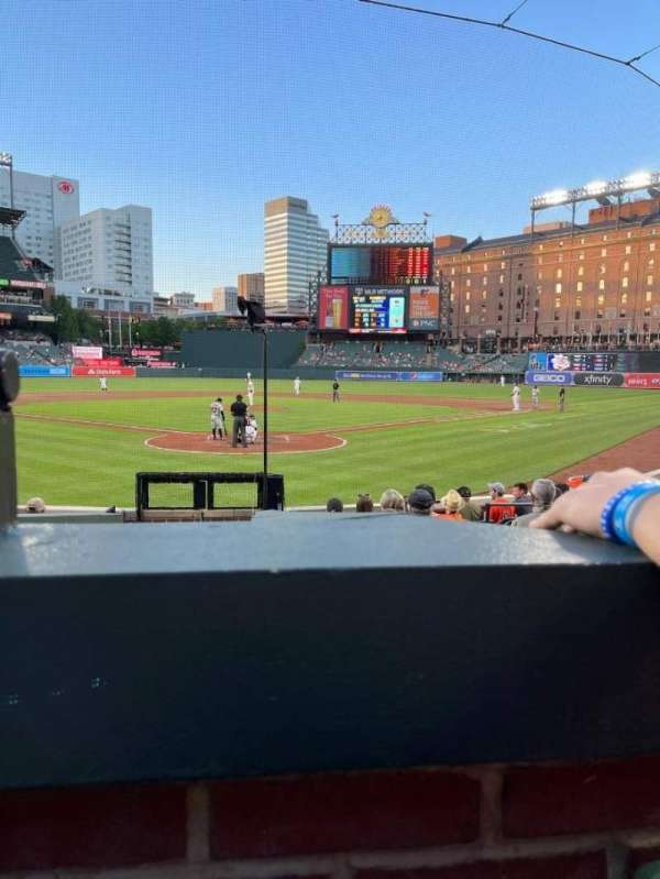 Oriole Park at Camden Yards, section: 36, row: 12, seat: 7