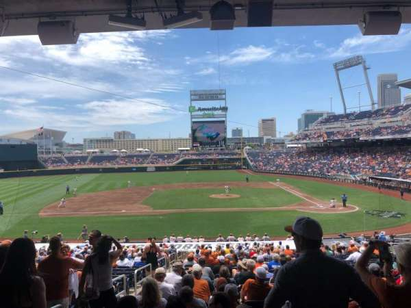 TD Ameritrade Park, section: 116, row: 30, seat: 17