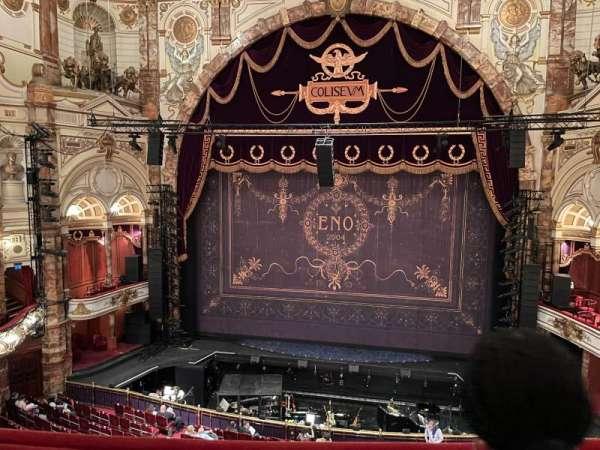 London Coliseum, section: Upper Circlee, row: B, seat: 22