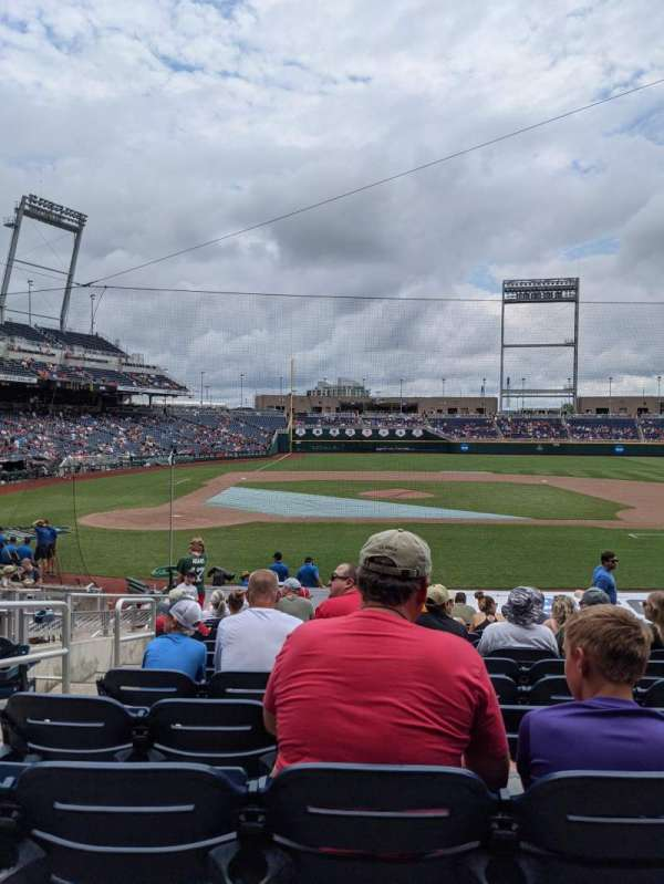 TD Ameritrade Park, section: 108, row: 18, seat: 16