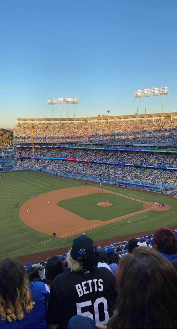 Dodger Stadium, section: 31RS, row: S, seat: 6