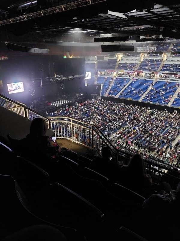 Coliseo De Puerto Rico, section: 217U, row: P, seat: 15