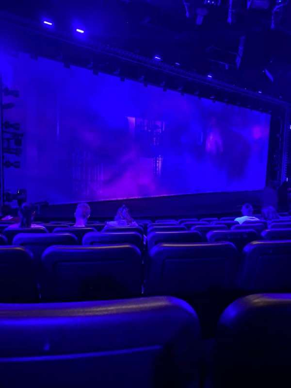 Blue Man Group Theater, section: 102, row: H, seat: 6