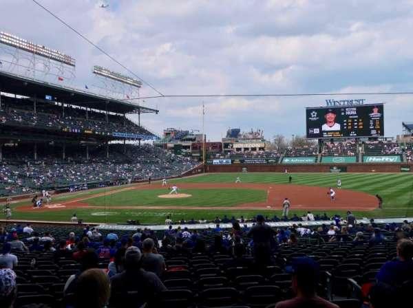 Wrigley Field, section: 225, row: 1, seat: 3