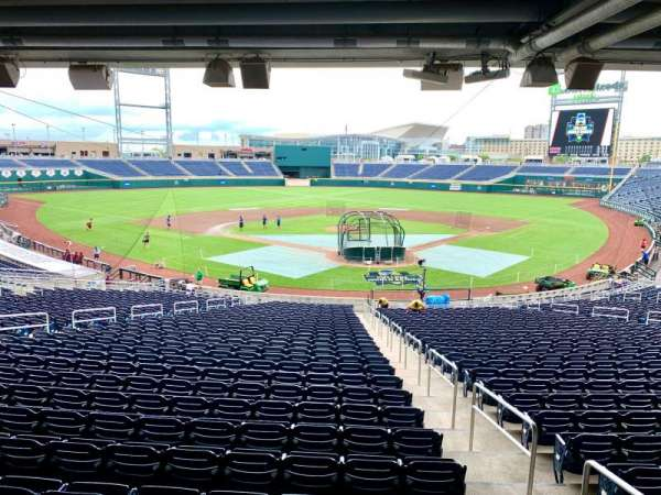 TD Ameritrade Park, section: 113, row: 32, seat: 1