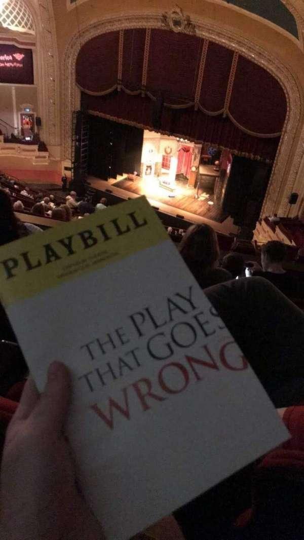 Orpheum Theatre (Minneapolis), section: Balcony 8, row: U, seat: 12