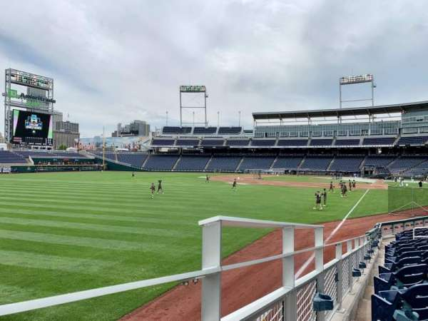TD Ameritrade Park, section: 124, row: 16, seat: 1