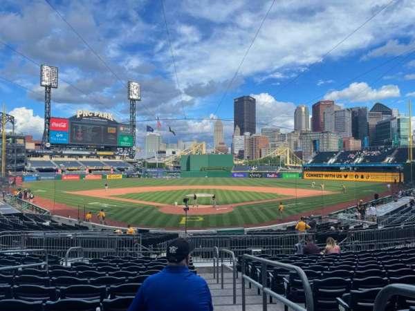 PNC Park, section: 116, row: M, seat: 1