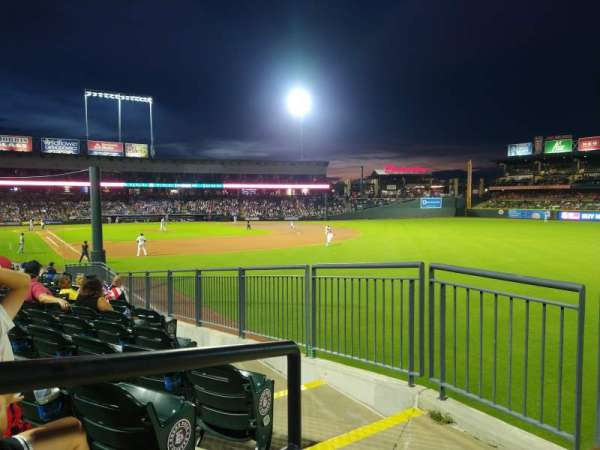 Dell Diamond, section: 128, row: 18, seat: 1