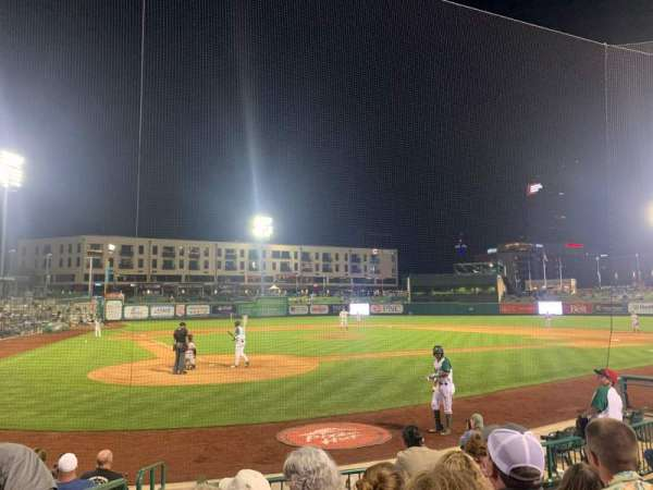 Parkview Field, section: 106, row: J, seat: 1