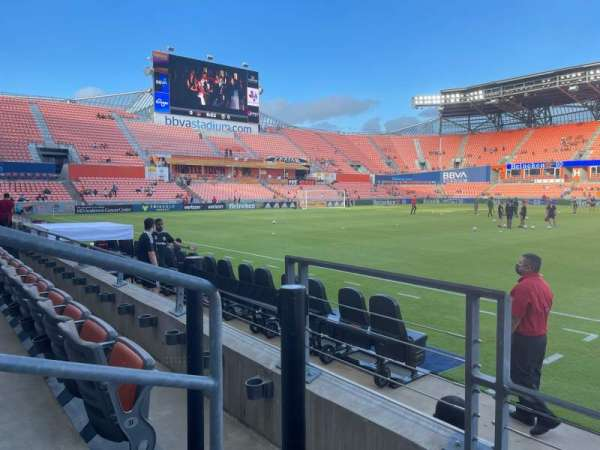 BBVA Stadium, section: 106, row: C, seat: 19