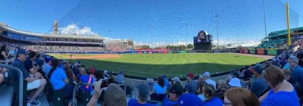 Sahlen Field, section: 122, row: I, seat: 17
