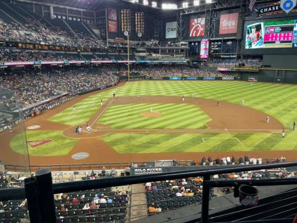 Chase Field, section: 209, row: 4, seat: 17