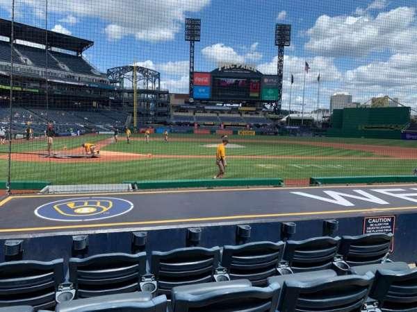 PNC Park, section: 13, row: J, seat: 6