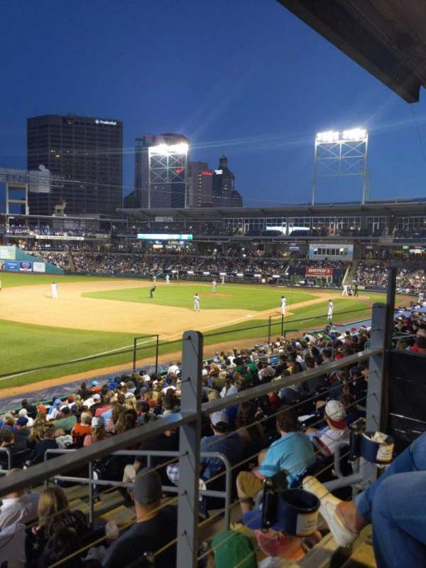 Dunkin' Donuts Park, section: 120, row: R, seat: 4
