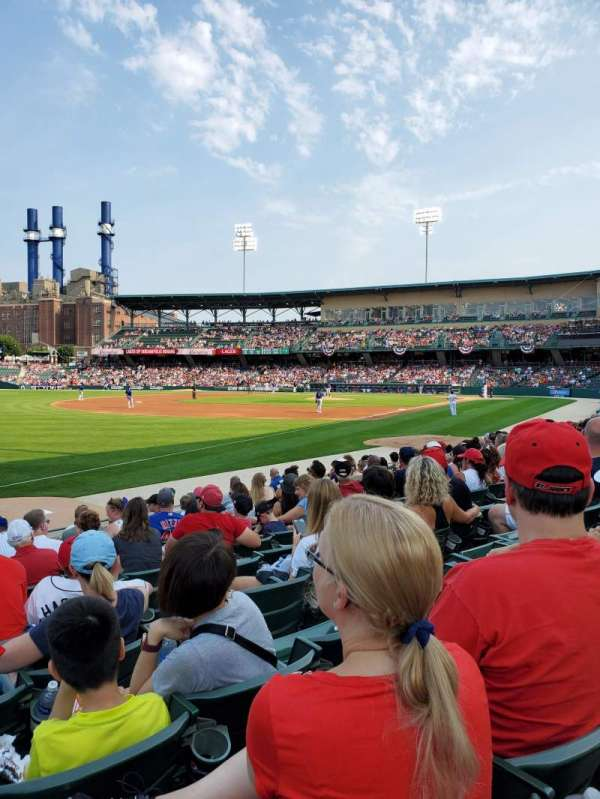 Victory Field, section: 104, row: L, seat: 20