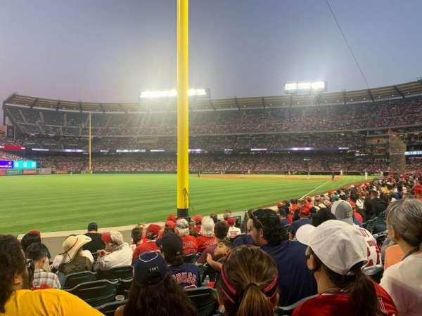 Angel Stadium, section: 103, row: H, seat: 1