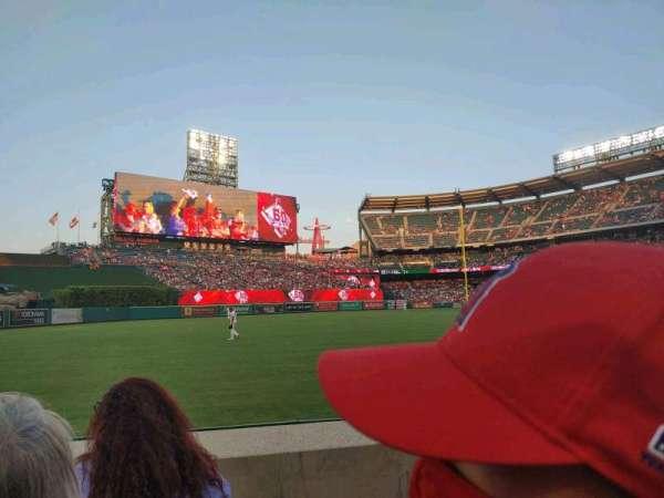 Angel Stadium, section: 105, row: C, seat: 16