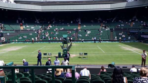 Wimbledon, Centre Court, section: 104, row: N, seat: 25