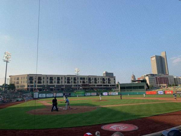 Parkview Field, section: 106, row: G, seat: 10