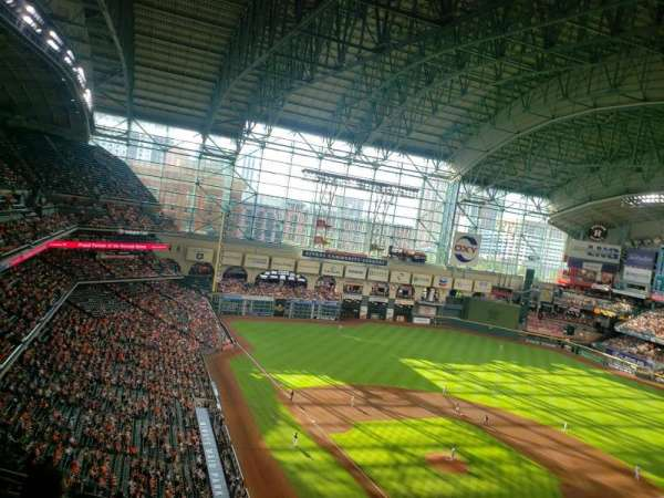 Minute Maid Park, section: 419, row: 4, seat: 16