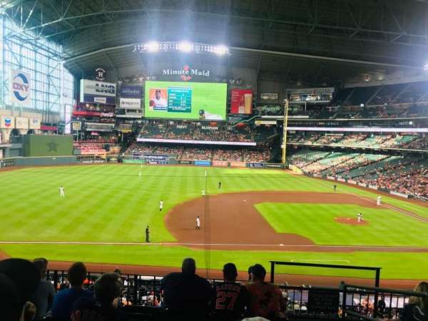 Minute Maid Park, section: 211, row: 6, seat: 15