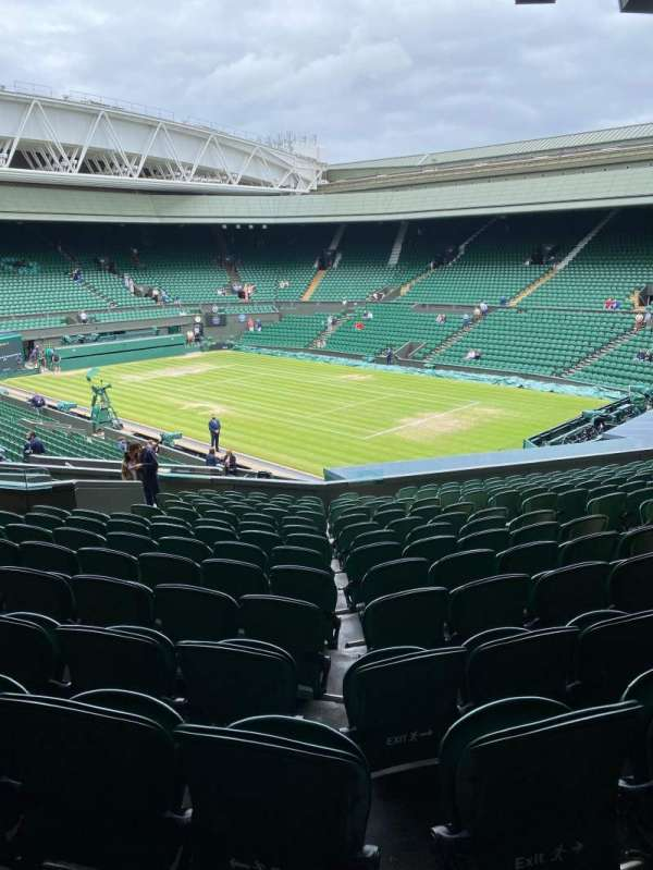 Wimbledon, Centre Court, section: 303, row: P, seat: 50