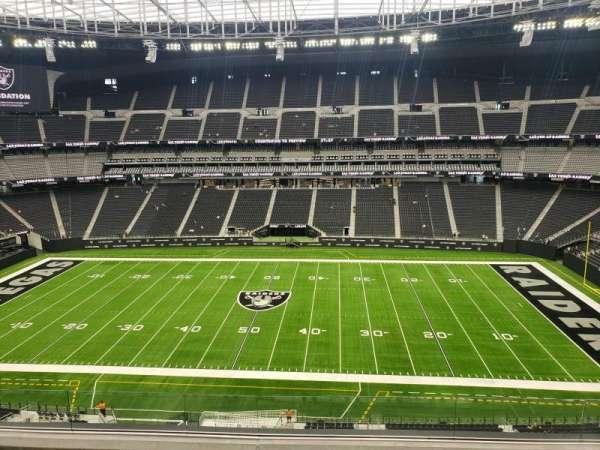 Allegiant Stadium, section: 337, row: 5, seat: 9,10