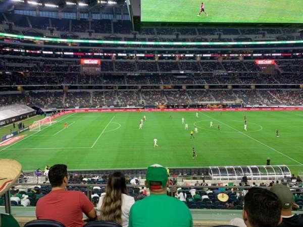 AT&T Stadium, section: C212, row: 4, seat: 8