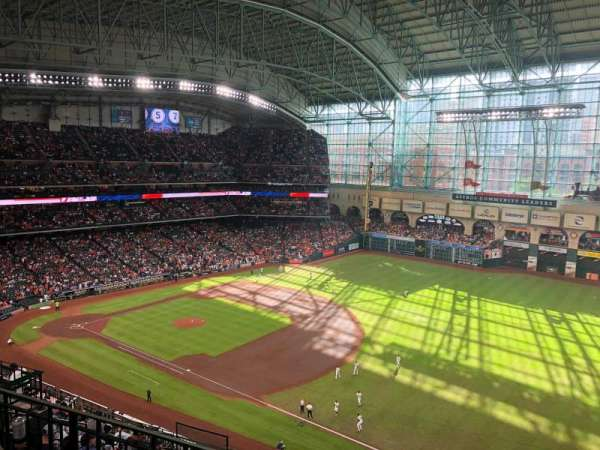 Minute Maid Park, section: 430, row: 4, seat: 13
