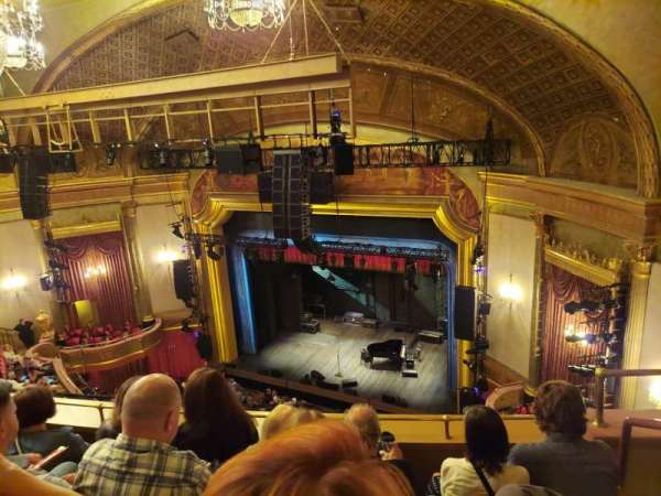 St. James Theatre, section: Balcony R, row: D, seat: 24