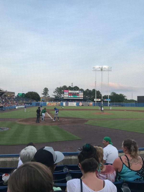 Harbor Park, section: 104, row: F, seat: 5