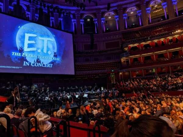 Royal Albert Hall, section: Stalls