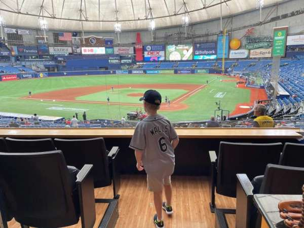 Tropicana Field, section: Suite AAA