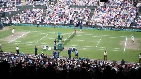 Wimbledon, Centre Court, section: 502, row: ZD, seat: 25