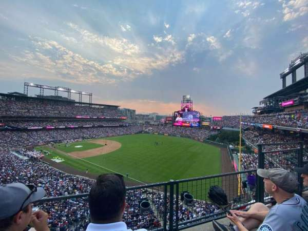 Coors Field, section: L313, row: 2, seat: 5