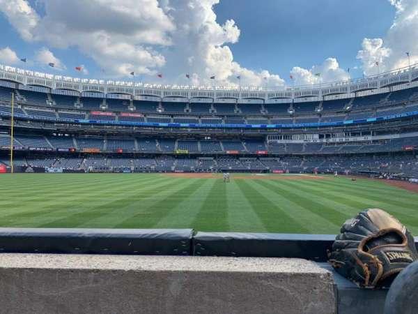 Yankee Stadium, section: 135, row: 1, seat: 1