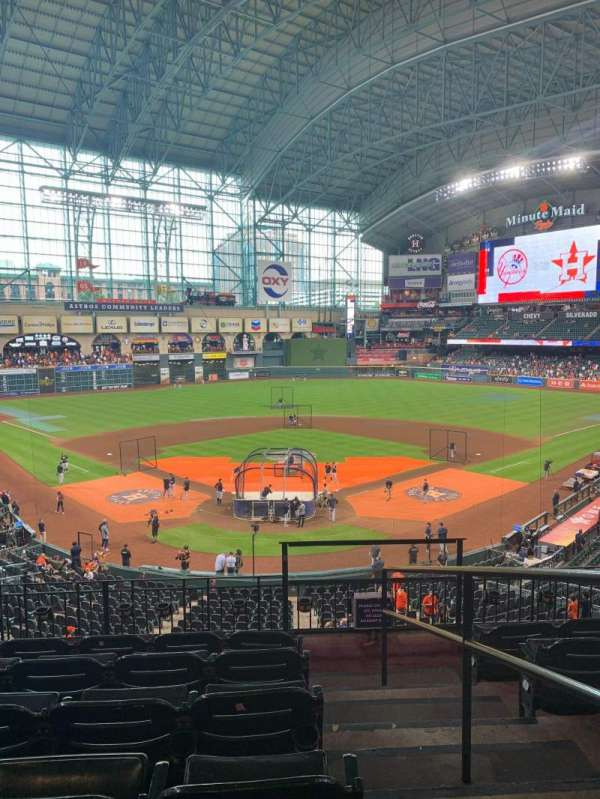 Minute Maid Park, section: 219, row: 6, seat: 15