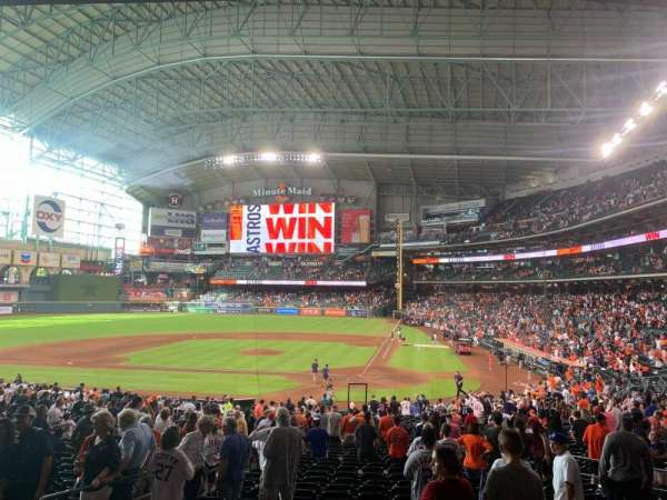 Minute Maid Park, section: 116, row: 34, seat: 24