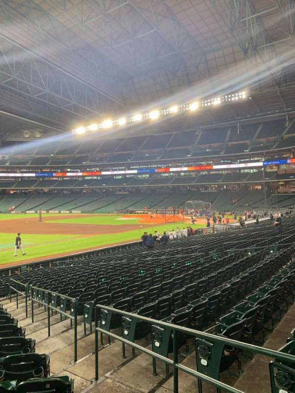 Minute Maid Park, section: 107, row: 21, seat: 22