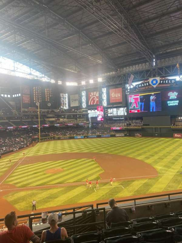 Chase Field, section: 209, row: 6, seat: 12