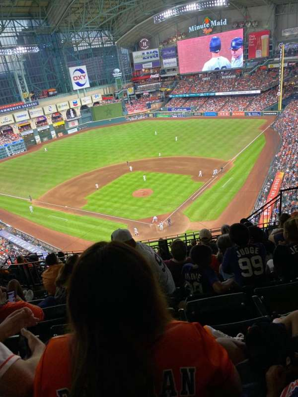 Minute Maid Park, section: 418, row: 6, seat: 15