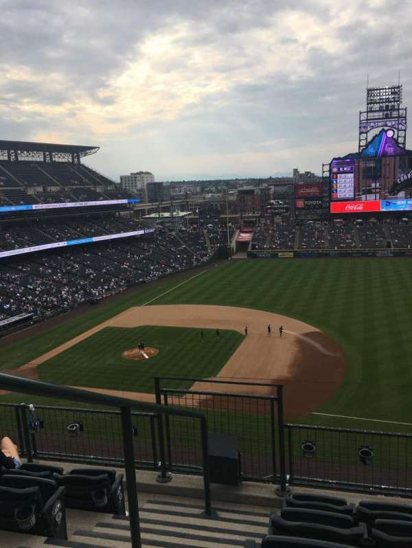Coors Field, section: L319, row: 5, seat: 24