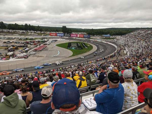 New Hampshire Motor Speedway, section: CD, row: 45, seat: 15