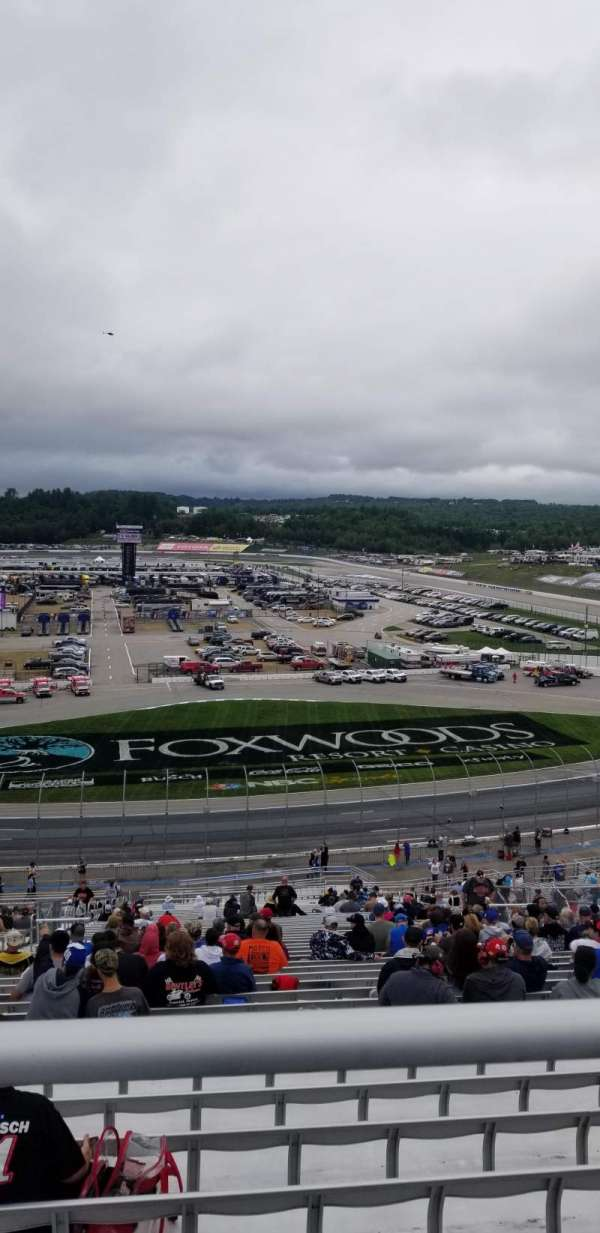 New Hampshire Motor Speedway, section: CT, row: 54, seat: 12