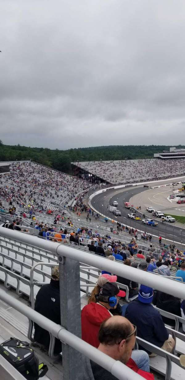 New Hampshire Motor Speedway, section: 54, row: 54, seat: 12