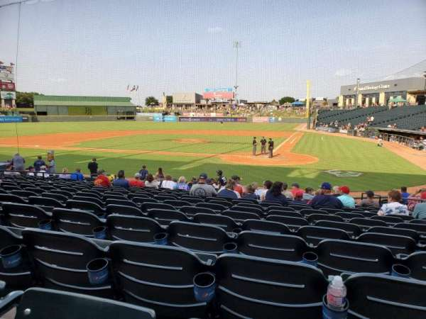 Dell Diamond, section: 117, row: 17, seat: 15