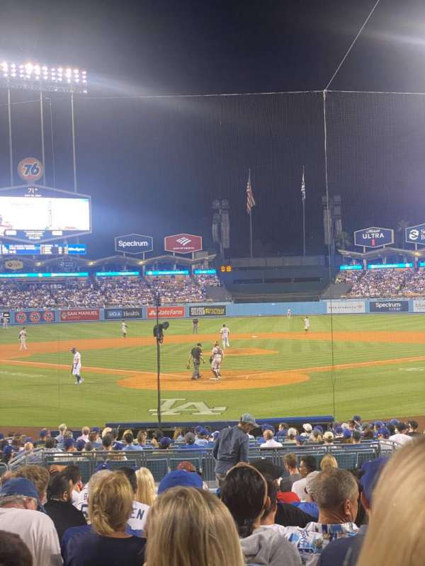 Dodger Stadium, section: 2FD, row: P, seat: 7