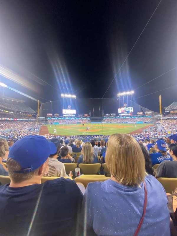Dodger Stadium, section: 2FD, row: P, seat: 8